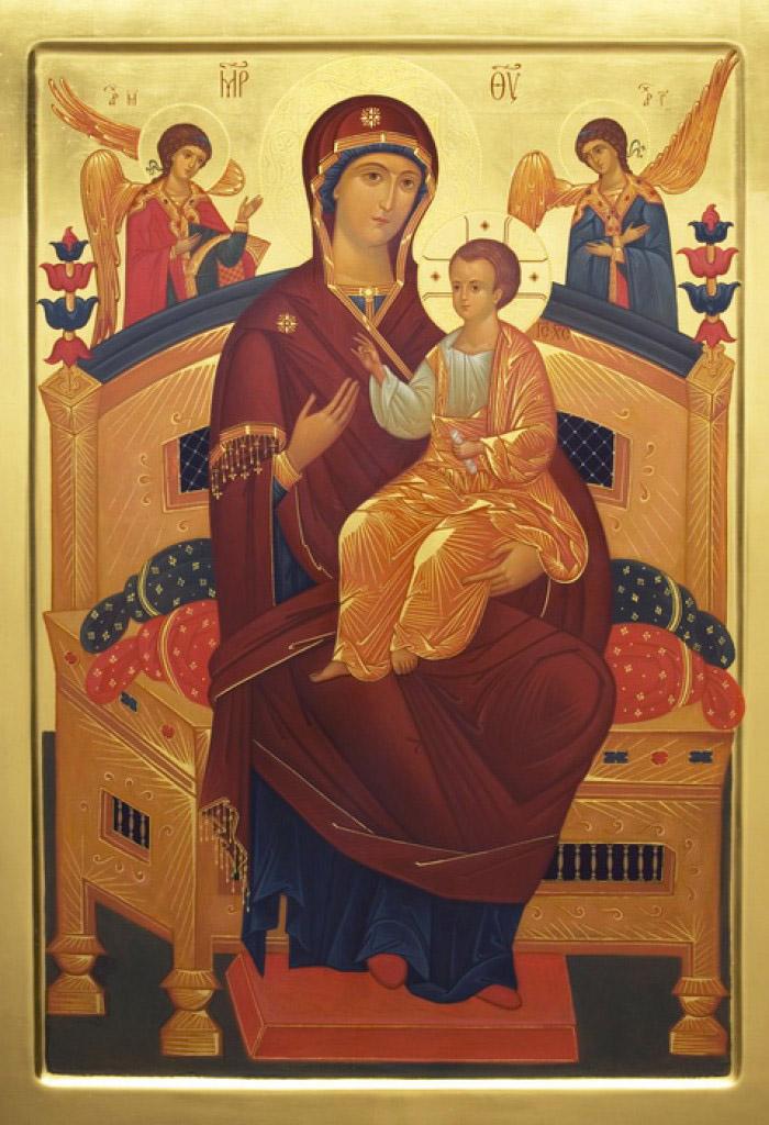 Акафист иконе Пресвятой Богородицы Всецарица (Пантанасса)