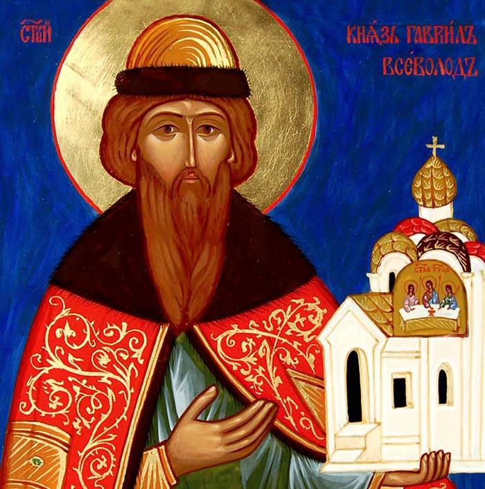Молитвы святому благоверному князю Всеволоду Псковскому