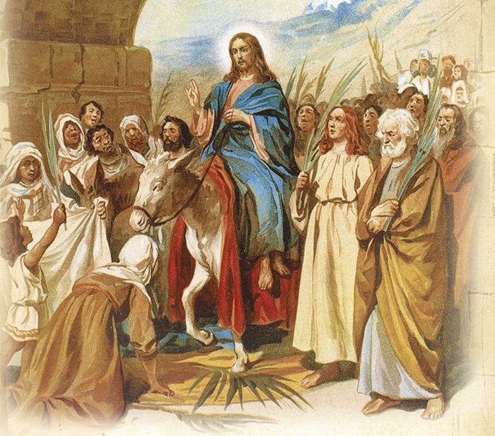 Акафист Входу Господню во Иерусалим