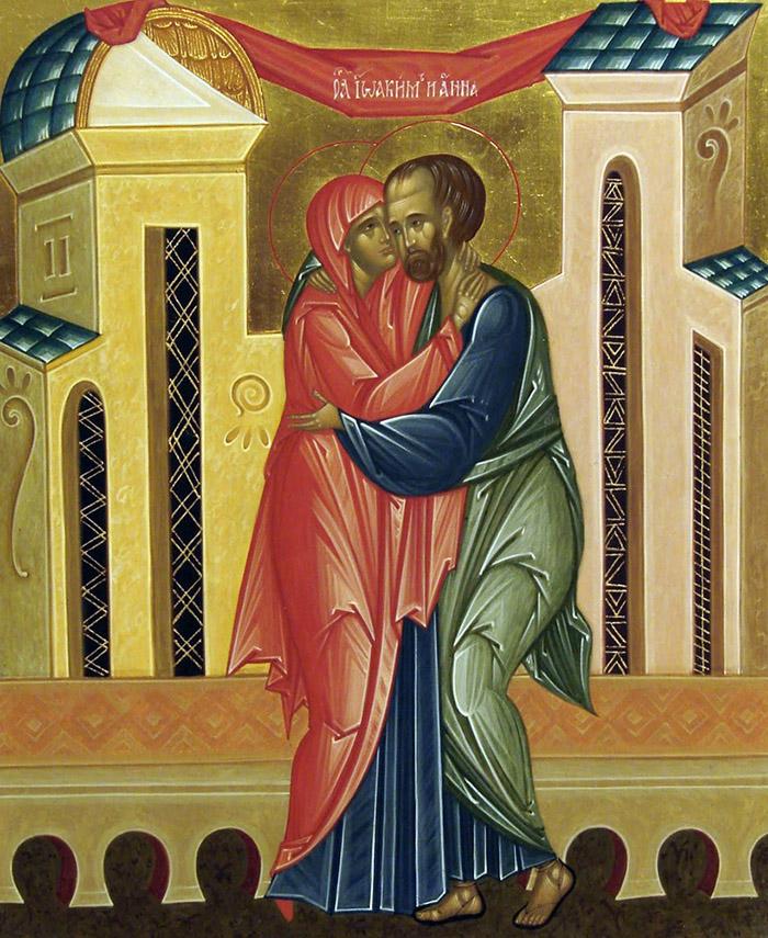 Канон зачатию святой праведной Анной Пресвятой Богородицы