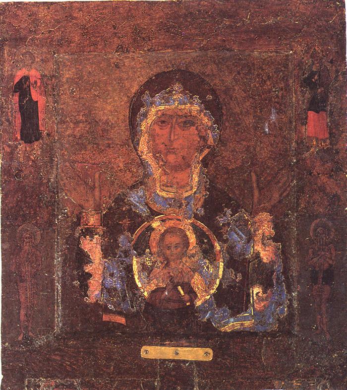 Акафист иконе Пресвятой Богородицы Знамение Новгородская